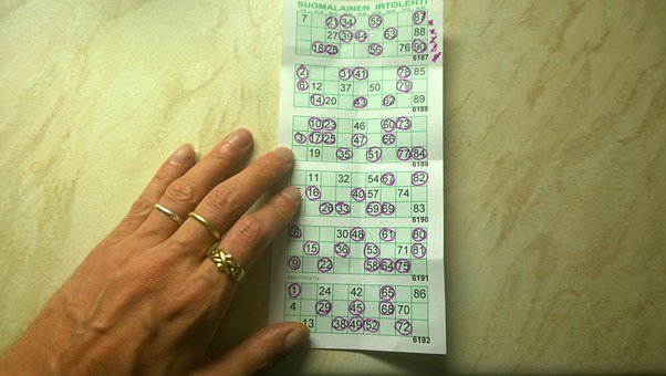 Bingo, Coupon, Lucky, Ticket, Game, Chance, Play
