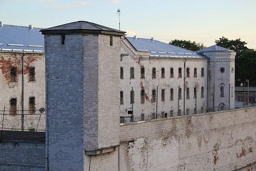 Latvia, Daugavpils, Prison, Architecture, Cell