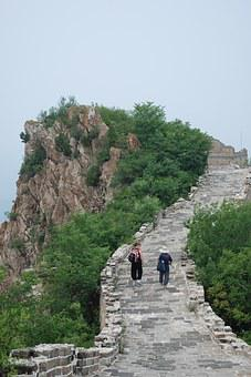 Great Wall, China, Chinese, Asia, Beijing, Famous