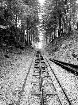 Funicular, Massif Central, Abandoned