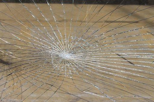 Glass Breakage, Glass, Broken, Splitter, Fragile