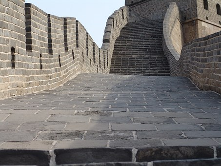 China, Wall, Beijing, Great Wall Of China, Asia