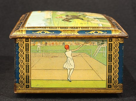 Biscuit, Box, Tin, Package, Old, Retro, Historic
