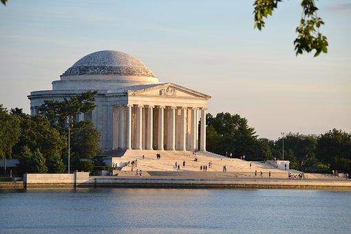 Washington Dc, Jefferson Memorial, History, Monument