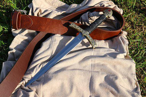 Weapon, Knife, Belts, Middle Ages, Gun Belt, Blade