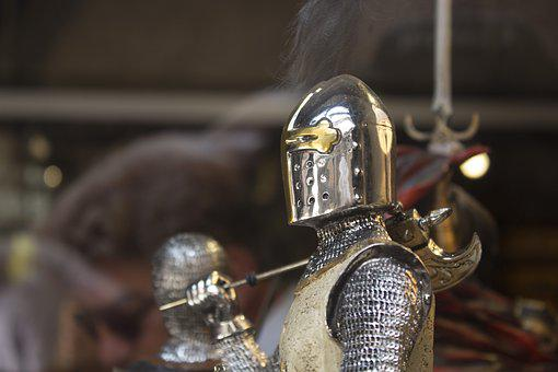 Knight, Castle, Armor, Middle Ages, Soldier, Antiques