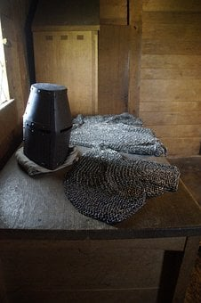 Chainmail, Knight, Armor, Middle Ages, Protection