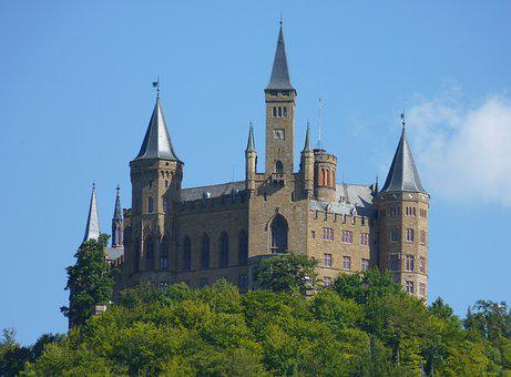Castle, Hohenzollern, Knight's Castle, Wall, Fortress