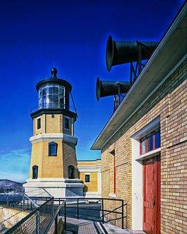 Lighthouse, Split Rock Lighthouse, Minnesota, Landmark