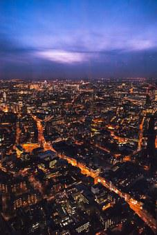 View From The Shard, London, London Eye, River Thames