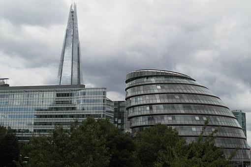 London, City, Tourism, The Shard, The Tallest Building