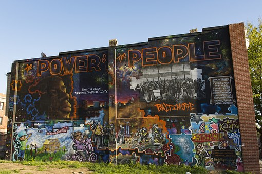 Baltimore, Mural, Art, Artwork, Freddie Gray