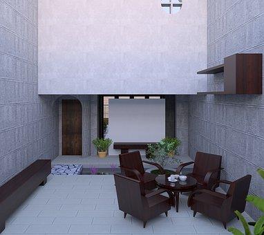 Interior Design, Room, Guest, Scenery, Home, Pretty