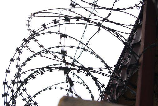 Barbed Wire, Military Wire, Prison, Security, Fence