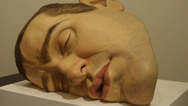 Sculptures, Exposure, Realistic, Faces, Gallery