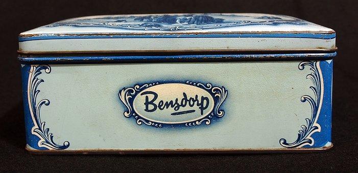 Bensdorps, Chocolade, Box, Tin, Package, Old, Retro