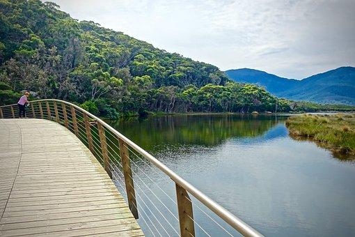 Tidal River, Wilsons Promontory, Stream, Scenery, Sand