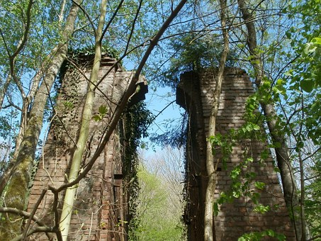 Heydt, Schacht Amelung, Ruin, Remains, Mining, Coal