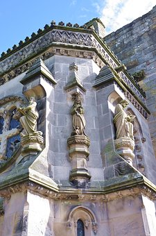 United Kingdom, Scotland, Roslin, Rosslyn Chapel