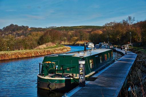 Canal, Forth, Clyde, Scotland, Scottish, Tourism