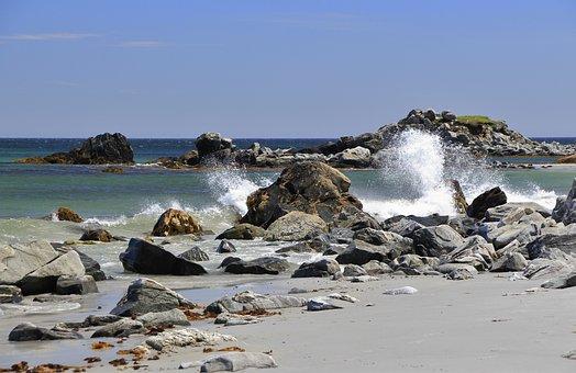 Ocean, Waves, Breakers, Surf, Sea, Water, Blue, Beach