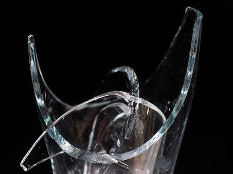 Glass, Broken, Shard, Glass Breakage, Sharp, Cut