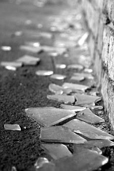 Shard, City, Glass, Splitter