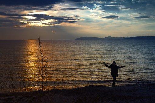 Sunset, Deans, Marine