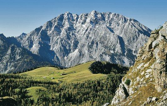 Watzmann, Watzmannostwand, Berchtesgaden National Park