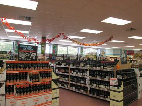 Wine, Grocery Store, Supermarket, Store, Market, Retail