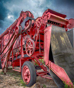 Agriculture, Machinery, Agricultural, Farm, Tractor