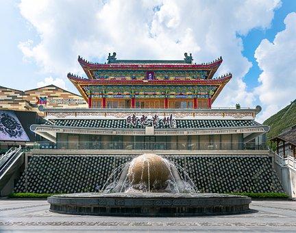 Antique Building, City Gate Tower, Turret, Time Guizhou