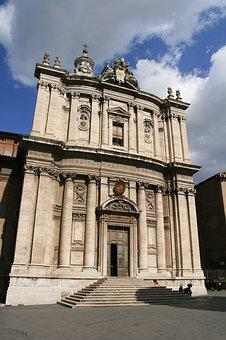 Rome, Church, Architecture, Tourism, Antiquity