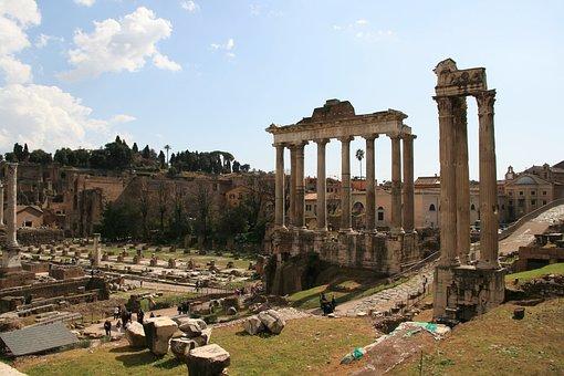 Foro Romano, Rome, Italy, Architecture, Roman