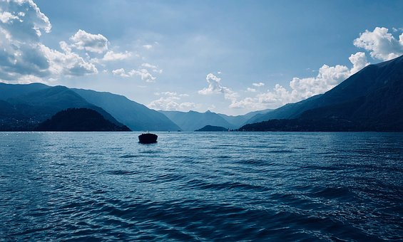 Landscape, Boat, Water, Travel, Lake, Rest, Vacations