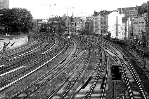 Gleise, Seemed, Central Station, Hamburgensien
