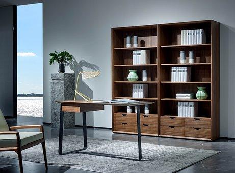 Home, Desk, Interior