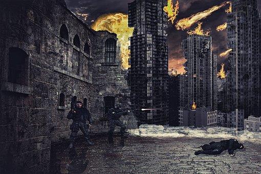 War, Destruction, Armageddon, Apocalypse, Disaster