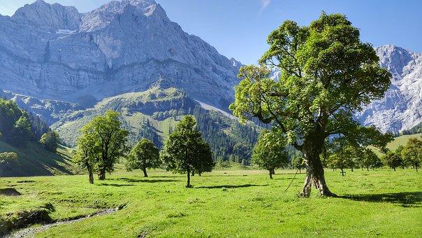 Ahornboden, Eng, Nature, Landscape, Engalm, Karwendel