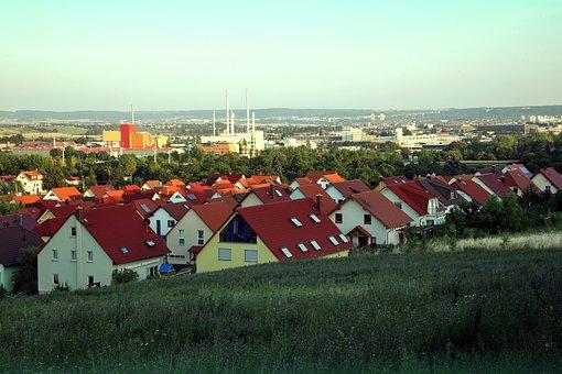 Erfurt, North, Erfurt Nord, Swe, Heat And Power Plant