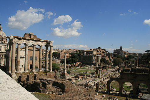 Foro Romano, Rome, Antiquity, Historically