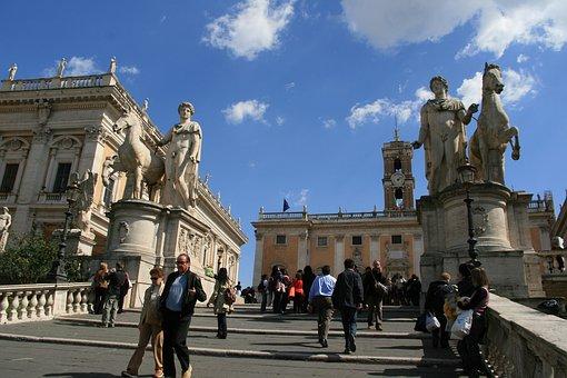 Rome, Historic Center, Italy, Capital, History
