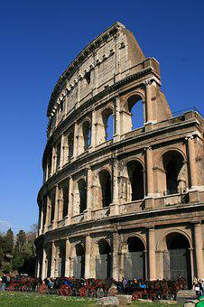 Rome, Colosseum, Italy, Places Of Interest