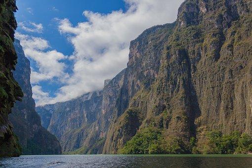 Chiapas, México, Nature, River, Tourism, Jungle, Water