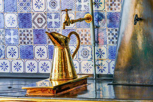 Claude Monet, Copper, Kitchen, Giverny, Kettle