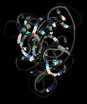 Pallietten, Abstract, Reflection, Mirroring, Light