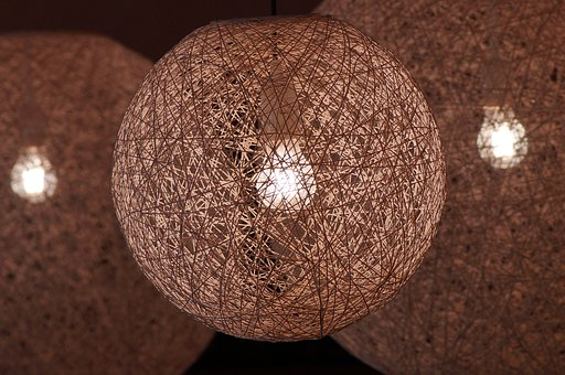 Lamp, Lampshade, Lighting, Light, Current, Artificial