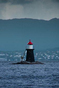 Sealight, Sea, Llight, Lighthouse, Clouds, Sunset