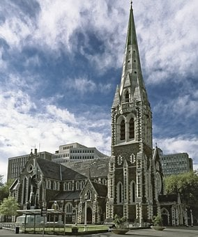 New Zealand, Christchurch, Christchurch Cathedral