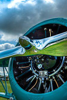 Propeller, Aircraft, Engine, Aviation, Old, Aeroplane